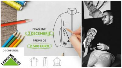 """Craft pe-o uniforma, viziunea juratului Rares Mateescu (Cufir). """"String art-ul e o provocare in partea vestimentara, insa nu imposibila"""""""