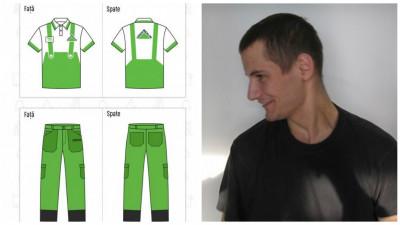 [Crafted Outfit] Uneori, salopeta il mai si face pe meserias. Vlad Popa exemplifica prin design