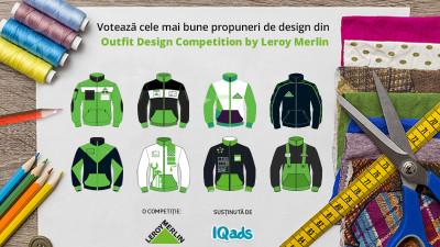 Gata inscrierile, de-acum la vot! Alege cele mai mestesugite designuri pentru noua uniforma Leroy Merlin
