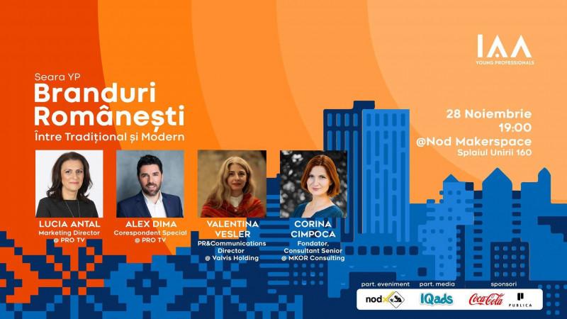 """Toți pasionații de marketing sunt rugați să strige """"Prezent!"""" la Seara YP dedicată Brandurilor Românești"""