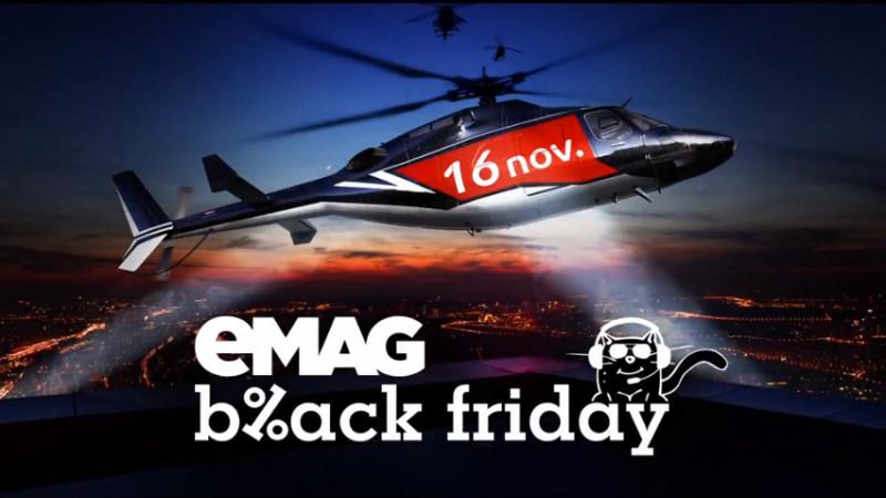 eMAG și Geometry au lansat campania de comunicare pentru entuziaștii Black Friday