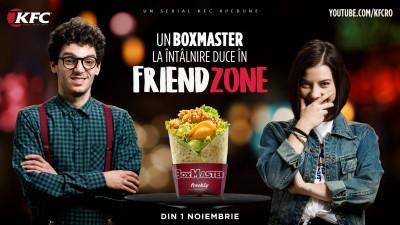 KFC Social Entertainment Channel prezintă FRIENDZONE, cel de-al doilea serial marcă proprie