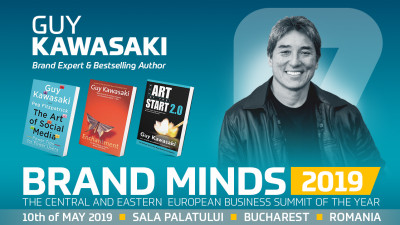 Come and see Guy Kawasaki live at BRAND MINDS 2019
