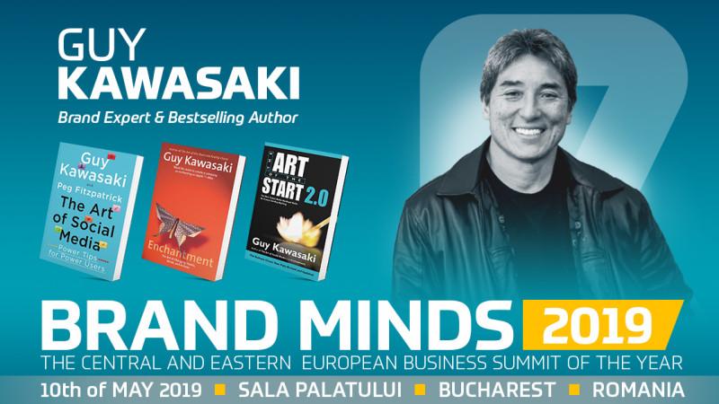 Come and see Guy Kawasaki live at BRAND MINDS 2019