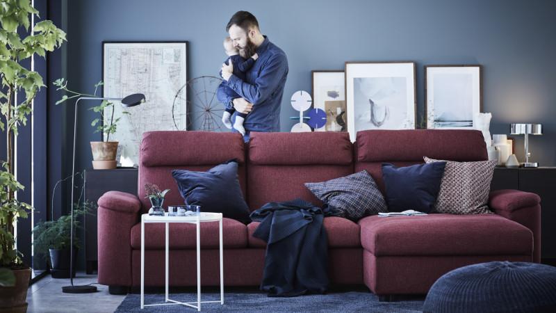 IKEA sprijină angajații care au copii mici. Noul beneficiu IKEA: o lună plătită de concediu parental pentru tați