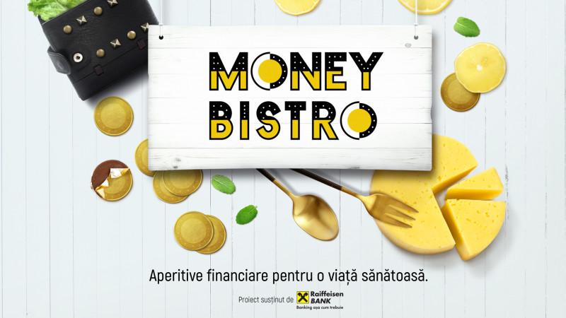 Rogalski Damaschin PR semnează conceptul Money Bistro, o platformă de educație financiară dezvoltată pentru Raiffeisen Bank