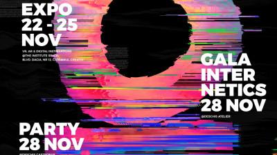 La cea de-a XVIII-a ediție, Internetics Festival prezintă publicului larg o expoziție de VR, AR și instalații interactive