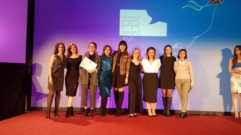 MedLife și MSL The Practice câștigă trofeul PR Innovator of the Year la Romanian PR Award 2018