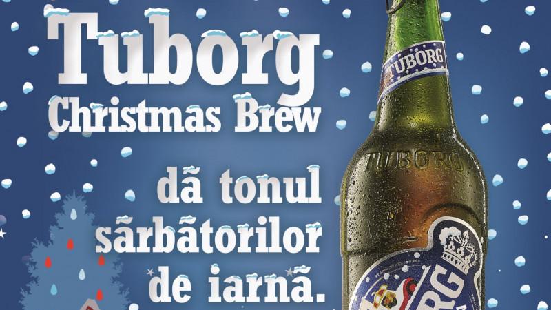 Tuborg lansează ediția limitată Tuborg Christmas Brew, o bere cu tradiție de 18 ani în România