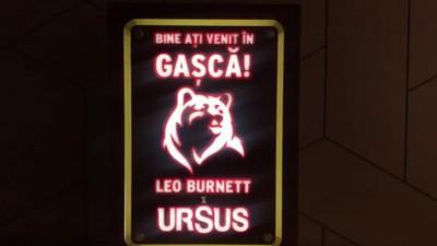 Leo Burnett Bucharest este noua agenție de brand a URSUS