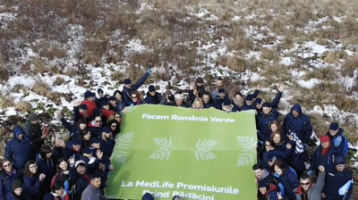 MedLife - Facem Romania verde