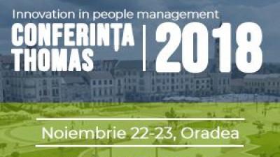 În luna noiembrie, Oradea devine capitala europeană a HR-ului Conferința Internațională Thomas: 20 de ani de Thomas International în România