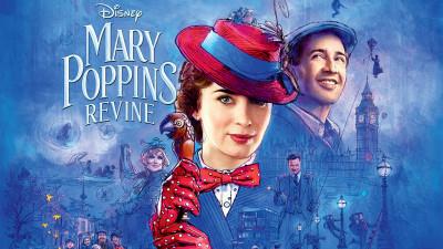 """""""Mary Poppins Returns/ Mary Poppins Revine"""", o poveste nouă despre optimism, dragoste și puterea vindecătoare a râsului"""