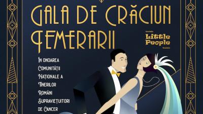 11 ani de Temerarii: Asociația Little People România anunță cea de-a 11 ediție a Galei de Crăciun pentru tinerii supraviețuitori de cancer