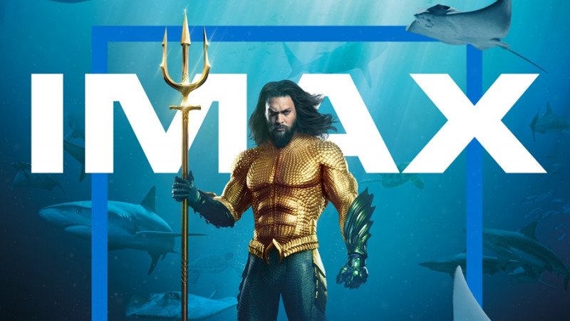 """Trei motive să vezi """"Aquaman"""" în format IMAX. 90% din blockbuster-ul DC Comics a fost filmat cu camere IMAX"""