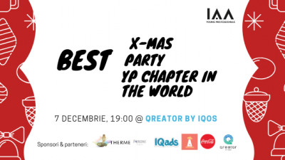 Hai și tu să PARTY LIKE a YP la Best X-mas Party of the Best YP Chapter in the World