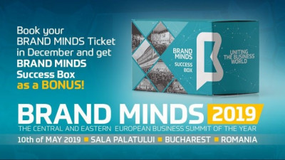 In December, get the BRAND MINDS Success Box as a BONUS