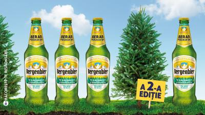 Încă 50.000 de brazi în pădurile României, plantați de Bergenbier și prietenii, într-o campanie semnată de Friends \ TBWA \ Bucharest