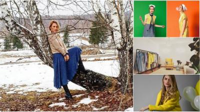 [fresh x design] Cristina Bucur (Potocaliu): Am pornit cu 2 masini de cusut simple si un triploc, acasa