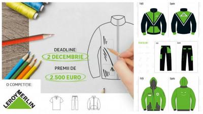 Masuratoarea celor 95 de inscrieri: iata cele mai bune 3 designuri pentru noua uniforma Leroy Merlin