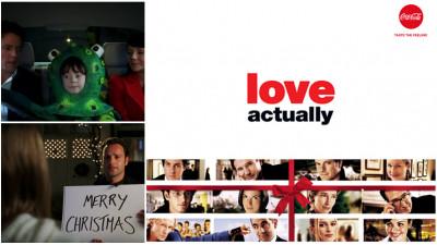 O nouă tradiție de Crăciun? Pe 26 decembrie, Coca-Cola îți oferă filmul Love Actually fără pauze publicitare