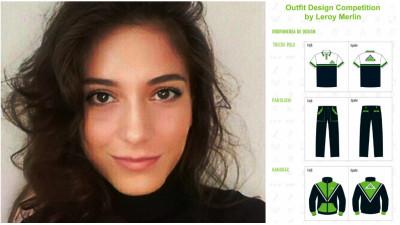 [Crafted Outfit] Despre DTP, pictura si cel mai bun outfit de lucru Leroy Merlin, alaturi de castigatoarea Valentina Ratiu