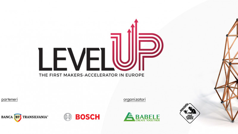 LEVEL-UP. Construim idei noi. Creăm un design sustenabil
