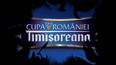 Timișoreana continuă să susțină fotbalul românesc în calitate de Sponsor Oficial al Cupei României