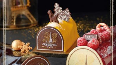 Brutăriile PAUL oferă mai multă savoare Crăciunului cu deserturile Noël, în ediție limitată