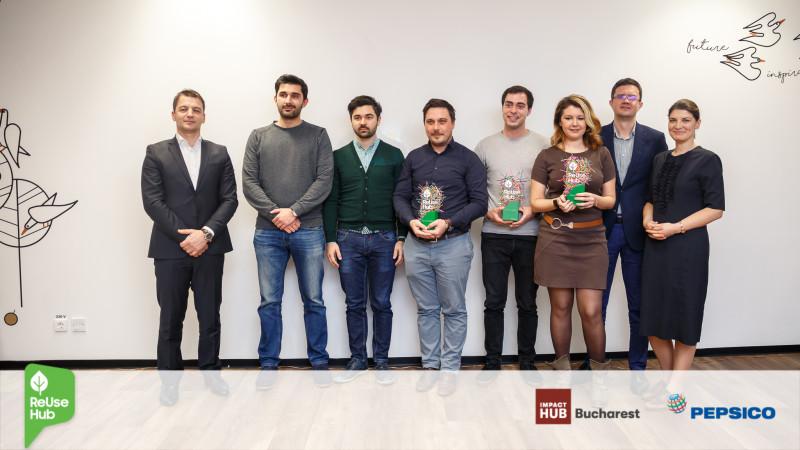 Impact Hub și PepsiCo au desemnat câștigătorii programului ReUse Hub