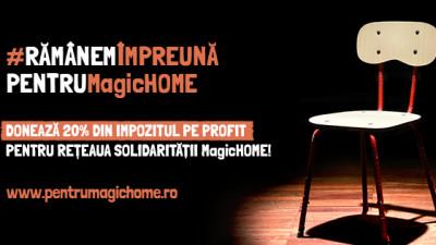 250 de oameni de afaceri au direcționat, până în acest moment, 20% din impozitul pe profit și venit pentru Rețeaua Solidarității MagicHOME