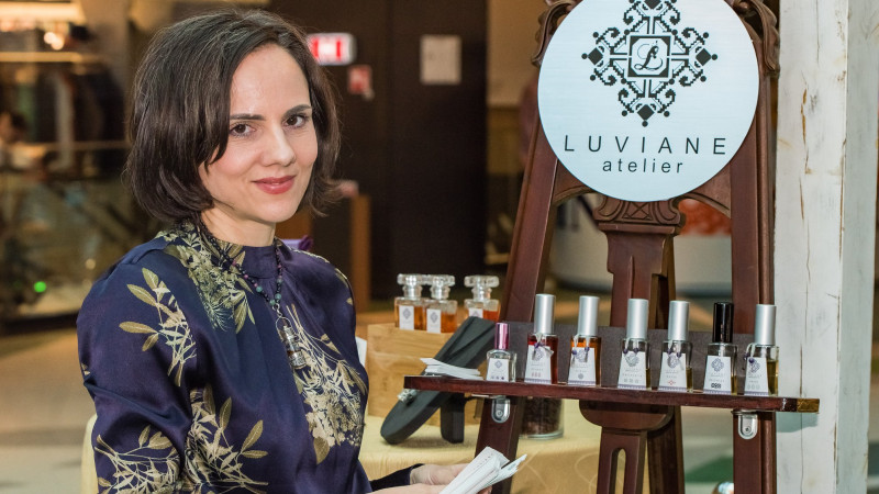 [fresh x design] Iulia Neagoe (Luviane): Parfumier te nasti; si e mai mult decat o meserie