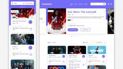 Cinematic - App Design