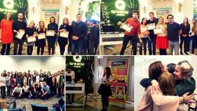 IAA Young Professionals a premiat cele mai creative idei în cadrul CompetiţIAA 2018