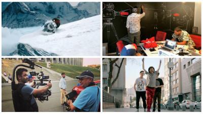 [An productie: 2018] Printre preocuparile Family Film: echipamente in munti inzapeziti, masini refractare, actori probati in pasi de dans