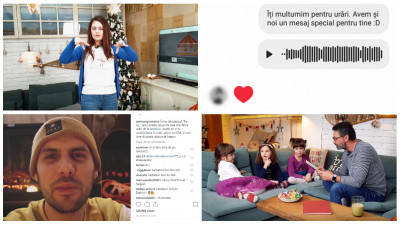 Sărbătorile în sufrageria Samsung, cu povești în limbajul semnelor și urări audio pe Instagram