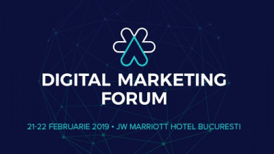 Digital Marketing Forum 2019 aduce 3 traininguri inedite sustinute de specialisti internationali