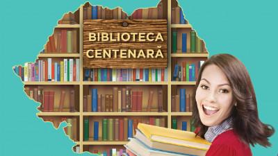 Cărțile donate prin campania Biblioteca Centenară ar forma o Coloană a Infinitului de 15 ori mai mare