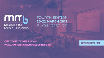 Mastering The Music Business - Conference & Showcase Festival ajunge la ediția a IV-a