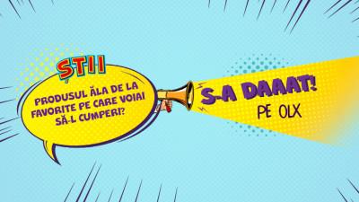 Cea mai recentă campanie Saatchi & Saatchi + The Geeks S-A DAT pentru OLX România