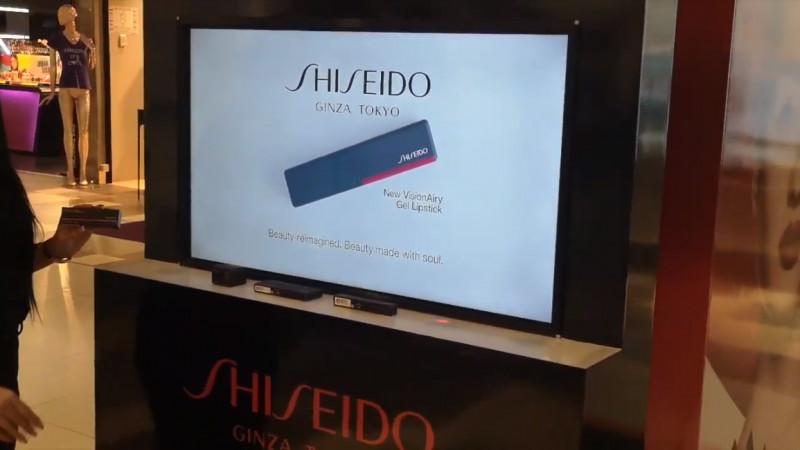 Experiential by Syscom Digital semnează cu succes proiectul interactiv RFID Smart Shelf pentru Shiseido