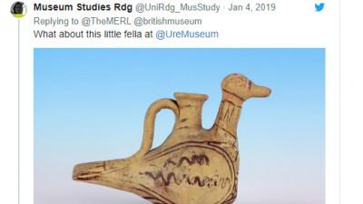 Muzeele se întrec în rațe pe Twitter