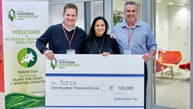 Start-up-ul israelian Yofix a obținut grantul de 100.000 euro oferit de PepsiCo în cadrul programului Nutrition Greenhouse din Europa