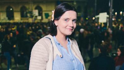 [Hai cu votul] Ana-Maria Caia: Dacă mai vreți un pașaport de UE și pentru copiii voștri, hai la vot