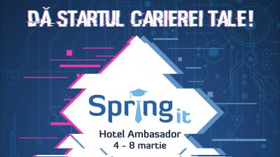 Primăvara începe cu o nouă ediție Spring IT