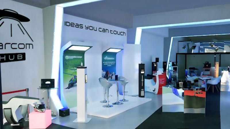Marcom Hub - showroom de tehnologie pentru industriile creative și pop-up events concept - și-a deschis porțile la începutul acestui an