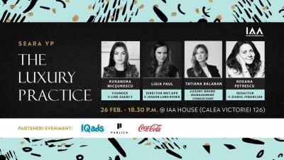 IAA Professionals organizează prima Seară YP dedicată brand-urilor de lux și high-end
