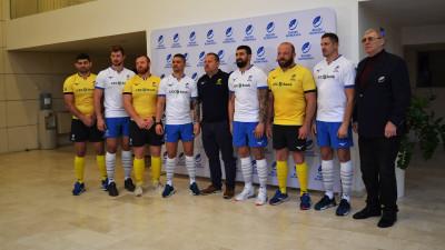 FCB Bucharest semnează noul echipament al Echipei naționale de rugby