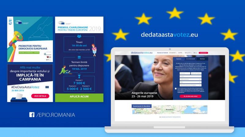 ThinkDigital a câștigat selecția pentru elaborarea și implementarea strategiei social media a Parlamentului European – Biroul de Legătură din România pentru alegerile din 26 mai
