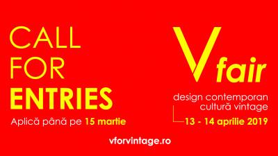 V fair deschide listele de înscriere pentru designeri - ediția cu numărul 22 – 13-14 aprilie | Palatul Telefoanelor